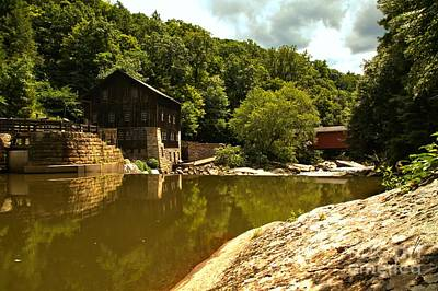 Photograph - History Along Slippery Rock Creek by Adam Jewell