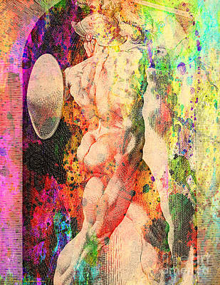 Michelangelo Digital Art - History Culture Of Nude by Mark Ashkenazi