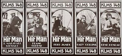 Golden Twenties Mixed Media - Hit Men Weekly Music Surveys by Gerald MacLennon
