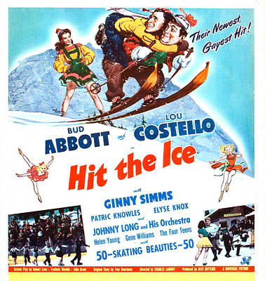 Hit The Ice, Us Poster, From Left Ginny Art Print