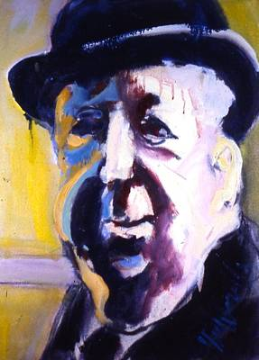 Art Print featuring the painting Hitch by Les Leffingwell