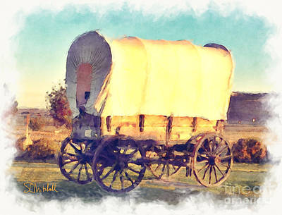 Painting - Hitch Your Wagon by Stephen Mitchell