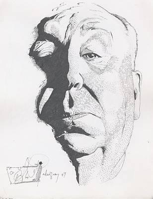 Hitchcock Art Print by Alex Rodriguez