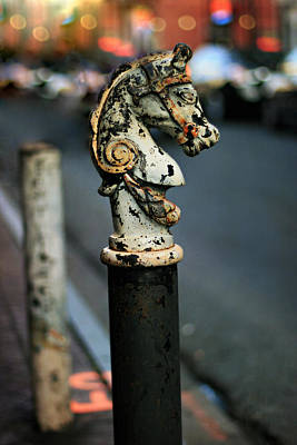 Photograph - Hitching Post #1 by Heather Green