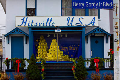 Hitsville Usa Art Print by John McGraw