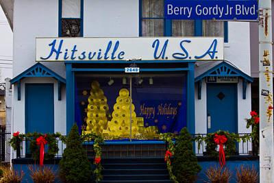 Jackson 5 Photograph - Hitsville Usa by John McGraw
