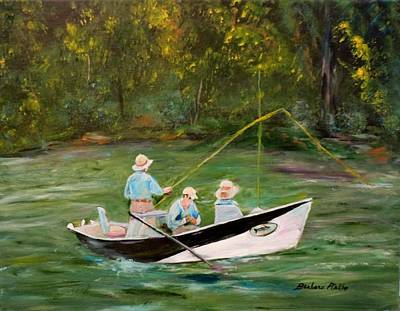 Painting - Hiwassee Drifter by Barbara Pirkle
