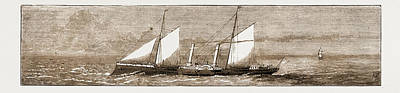 Lively Drawing - H.m. Despatch-boat Lively, Wrecked While Conveying by Litz Collection