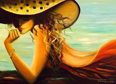 Painting - Hmmmmmm by Gina De Gorna