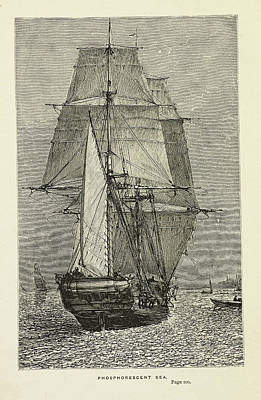 The Country Photograph - Hms Beagle by British Library