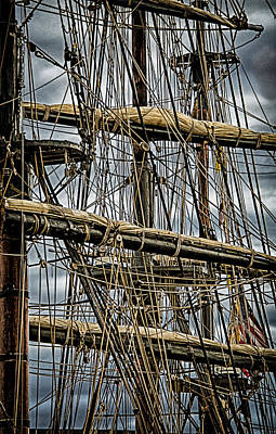 Photograph - Hms Bounty 2 by Fred LeBlanc