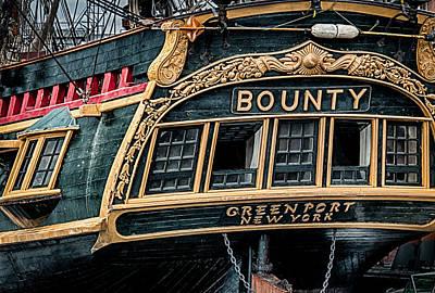 Hms Bounty Print by Fred LeBlanc