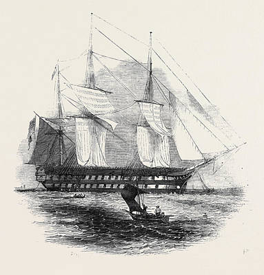 H.m.s. Collingwood Art Print by English School