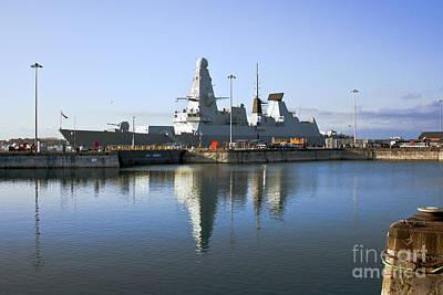 Photograph - Hms Dauntless by Terri Waters