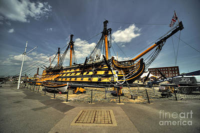 Hms Victory Photograph - Hms Victory  by Rob Hawkins