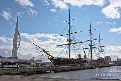 Photograph - Hms Warrior by Terri Waters