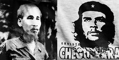 Ho Chi Minh And Che Guevara Art Print by Rick Piper Photography