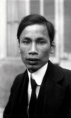 Ho Chi Minh In 1921 Art Print
