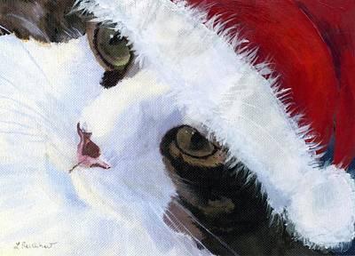 Painting - Ho Ho Harley by Lynne Reichhart