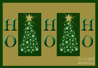 Photograph - Ho Ho Ho by Donna Greene