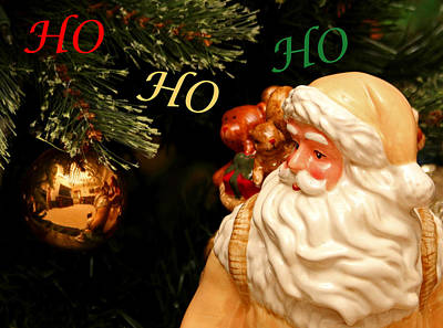 Photograph - Ho Ho Ho by Judy Vincent