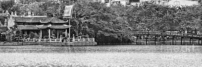 Kiem Photograph - Hoan Kiem Lake II by Chuck Kuhn