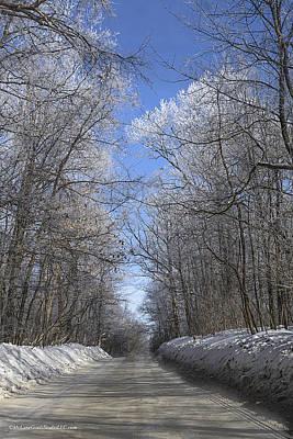 Fairy Photograph - Hoar Frost On Campground Road by LeeAnn McLaneGoetz McLaneGoetzStudioLLCcom