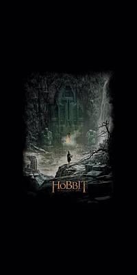 Tolkien Digital Art - Hobbit - At Smaug's Door by Brand A