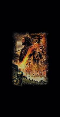 The Hobbit Wall Art - Digital Art - Hobbit - Golden Chamber by Brand A