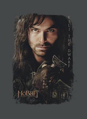 The Hobbit Wall Art - Digital Art - Hobbit - Kili Poster by Brand A
