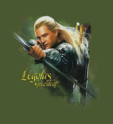 The Hobbit Wall Art - Digital Art - Hobbit - Legolas Greenleaf by Brand A