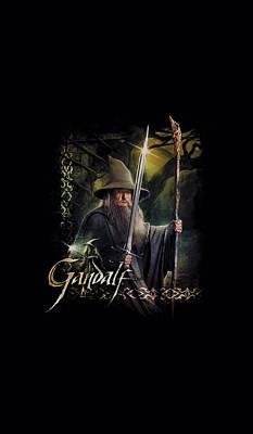 Tolkien Digital Art - Hobbit - Sword And Staff by Brand A