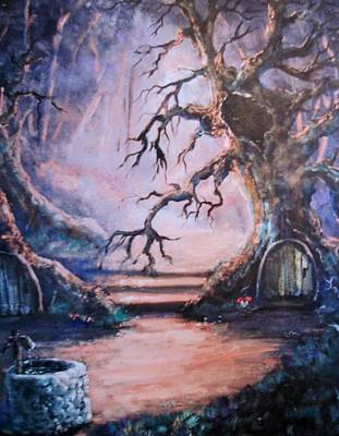 Hobbit Watering Hole Art Print