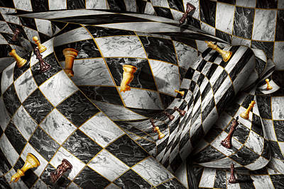 Digital Art - Hobby - Chess - Your Move by Mike Savad