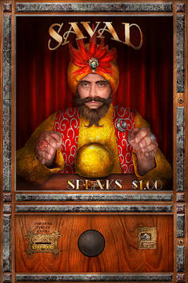 Photograph - Hobby - Have Your Fortune Told by Mike Savad