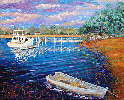 Painting - Hobcaw Creek  by Dwain Ray