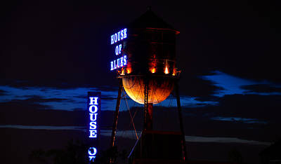 Photograph - House Of Blues Night by David Lee Thompson