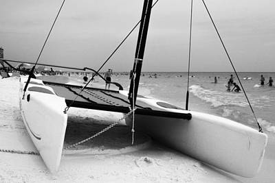 Photograph - Hobie For Rent by Jeff Mize