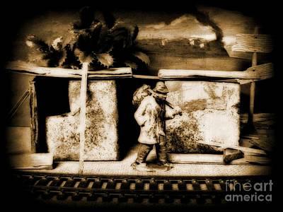 Depression Mixed Media - Hobo by John Malone