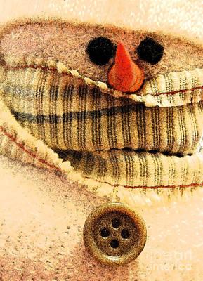 Photograph - Hobo Snowman I by Jani Freimann