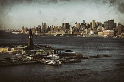 Brooklyn Height Photograph - Hoboken Station by D Plinth