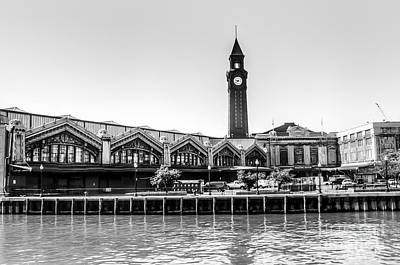 Hoboken Terminal Tower Art Print