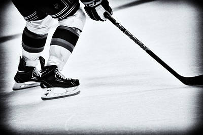 Photograph - Hockey Is The Game by Karol Livote