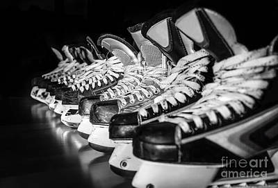 Canada Photograph - Hockey Time by JR Photography