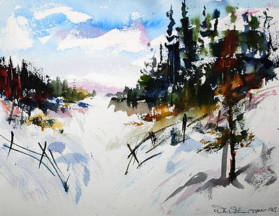 Painting - Hockley Valley Snows by Wilfred McOstrich