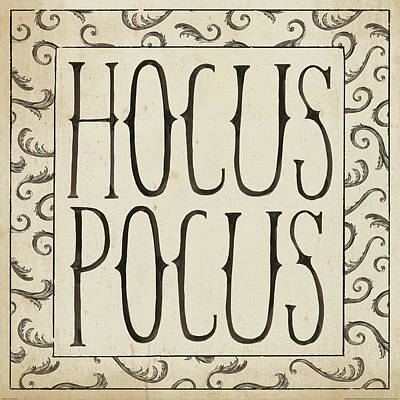 Painting - Hocus Pocus Square II by Sara Zieve Miller