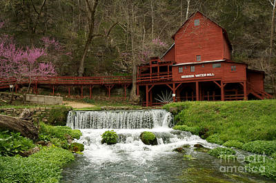 Hodgson Mill Print by Chris  Brewington Photography LLC