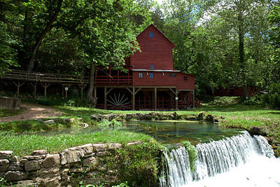 Photograph - Hodgson Mill by Scott Sanders