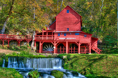 Photograph - Hodgson Mill by Steve Stuller