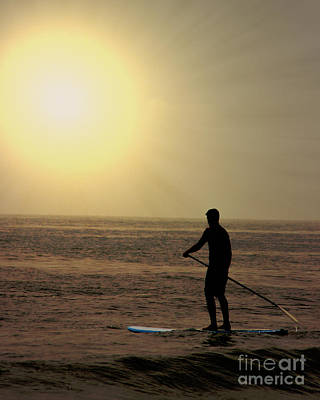 Stand Up Paddle Board Photograph - Hoe He'e Nalu by Tom Gari Gallery-Three-Photography